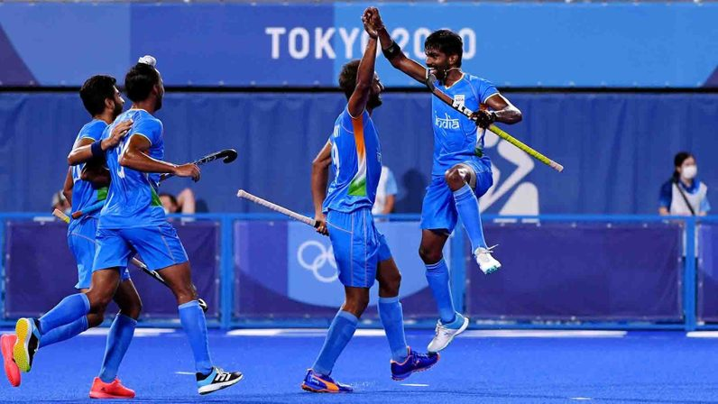 Indian Men's Hockey Team inch closer to end 41-year medal drought; Beat Great Britain 3-1 to book Semi Final berth - Hockey India